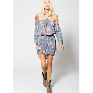 Stillwater Rebound Mini Dress in Country Song